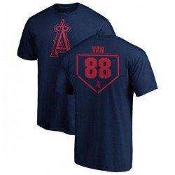 Youth Hector Yan Los Angeles Angels RBI T-Shirt - Navy